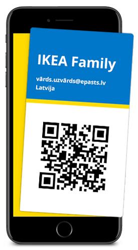 IKEA Family digitālā karte